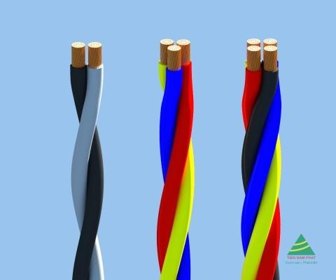 TrCV – 0,6/1 kV CÁP TRIPLEX, RUỘT ĐỒNG, CÁCH ĐIỆN PVC
