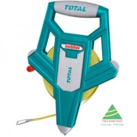 100m Thước dây làm bằng sợi thủy tinh TOTAL TMTF121006