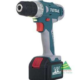 18V Máy khoan vặn vít dùng pin Li-ion TOTAL TDLI228180