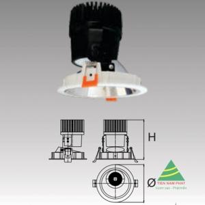 Đèn âm trần led chiếu điểm DFA413