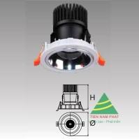 Đèn âm trần led chiếu điểm DFA414