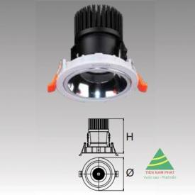 Đèn âm trần led chiếu điểm DFA412