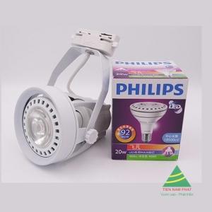 Đèn rọi thanh ray Philips PAR 32W 3000LM 15D 36D