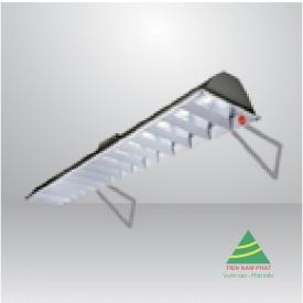 Bộ LED Tuýp bảng đơn bóng nhôm nhựa